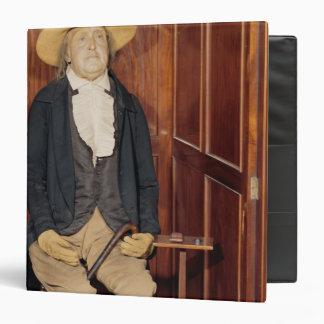 "Cuerpo embalsamado de Jeremy Bentham Carpeta 1 1/2"""