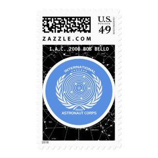 Cuerpo internacional del astronauta sello