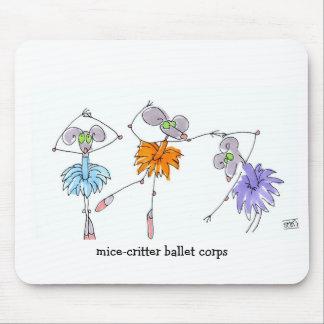 Cuerpo Mousepad del ballet del Ratón-Critter
