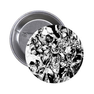 Cuerpo negro de la linterna - blanco y negro pins