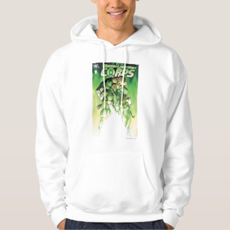 Cuerpo verde de la linterna sudadera
