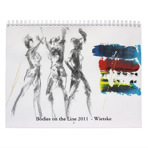Cuerpos en la línea 2011 - Wietske Calendario