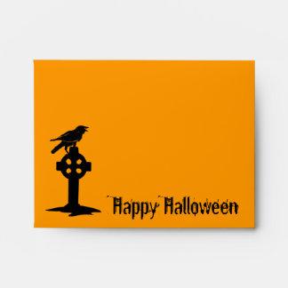 Cuervo A2 en los sobres anaranjados de Halloween
