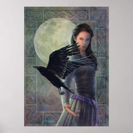 Cuervo céltico posters