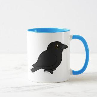Cuervo común de Birdorable Taza
