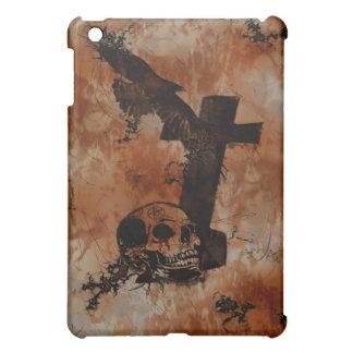 Cuervo cráneo lápida mortuoria caso gótico del