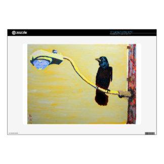 Cuervo de cacareo en un poste ligero portátil 38,1cm skin