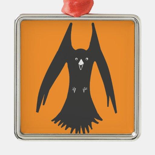 Cuervo de cernido grande en productos múltiples adorno de navidad