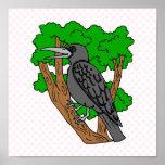 Cuervo de Crandell Impresiones