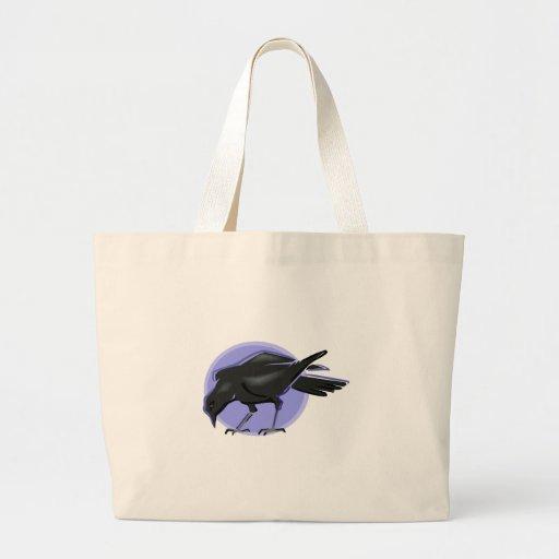 Cuervo de Crondell Bolsas Lienzo