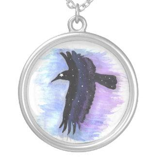 Cuervo de la estrella colgante redondo