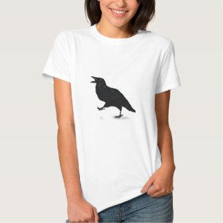 Cuervo de Sqwarking Remeras