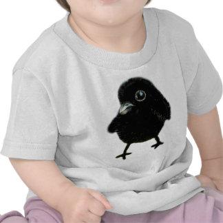Cuervo del bebé camiseta
