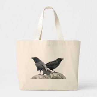 Cuervo del cuervo bolsa