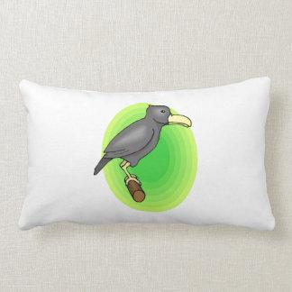 Cuervo del dibujo animado almohada