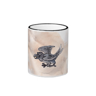 Cuervo del oro del tonto tazas