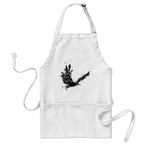 cuervo delantal