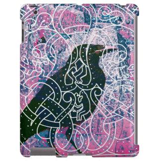 Cuervo en el Runestone Funda Para iPad