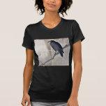 Cuervo en una rama Ukiyoe del sauce Camiseta