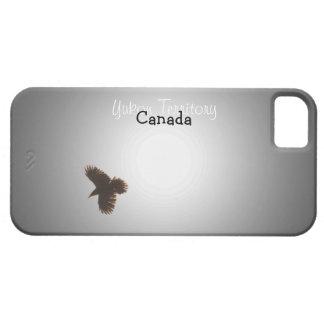 Cuervo en vuelo; Recuerdo del territorio del Yukón Funda Para iPhone SE/5/5s