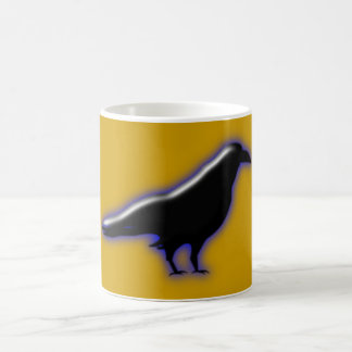 cuervo estar standing Raven Taza De Café