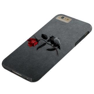 Cuervo gótico en el caso más del iPhone 6 duros Funda De iPhone 6 Plus Tough