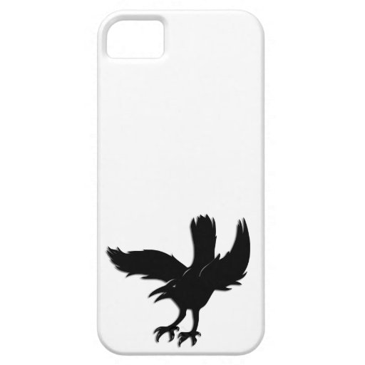 Cuervo iPhone 5 Funda