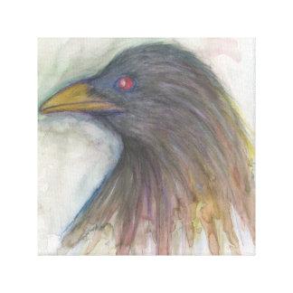 Cuervo Lona Envuelta Para Galerías