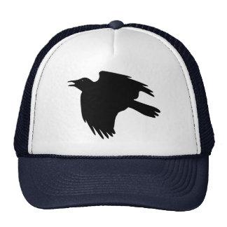 Cuervo loco gorro