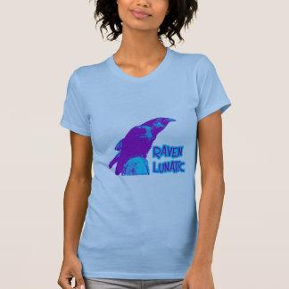 Cuervo loco camiseta