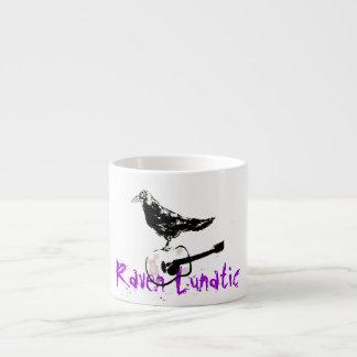 Cuervo loco taza espresso