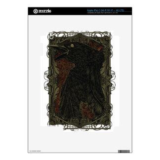 Cuervo muerto pegatina skin para iPad 3