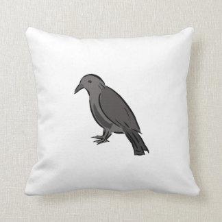 Cuervo negro cojines