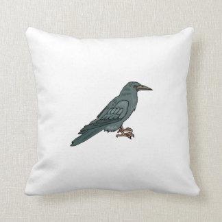 Cuervo negro almohadas
