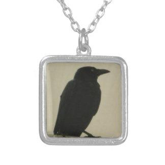 Cuervo negro colgantes personalizados