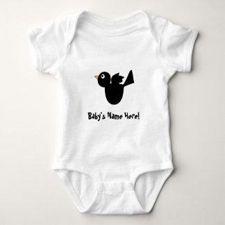 Cuervo negro: Enredadera del bebé T Shirt