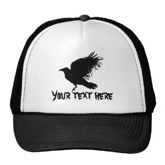 Cuervo - negro gorra