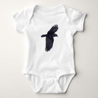 Cuervo negro que vuela gótico, Haida, fauna Camisas
