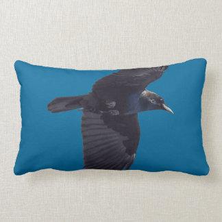 Cuervo negro que vuela gótico Haida fauna