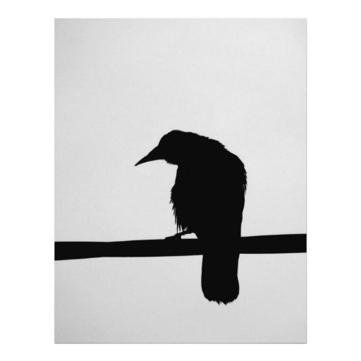 cuervo negro tarjetón