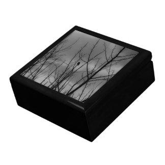 Cuervo oscuro caja de joyas
