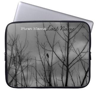 Cuervo oscuro; Personalizable Fundas Portátiles