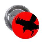 Cuervo oscuro pin