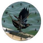 Cuervo Reloj De Pared