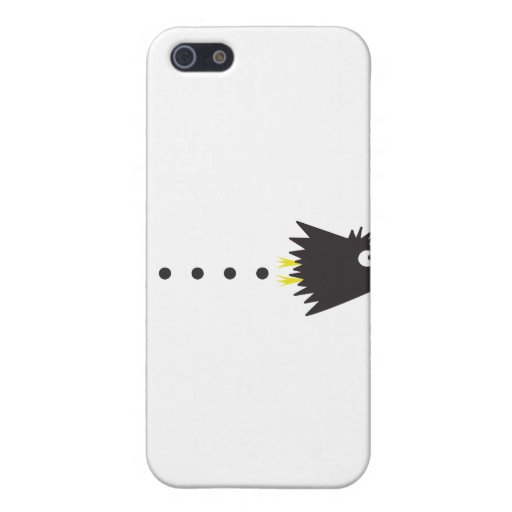 Cuervo solamente iPhone 5 protector