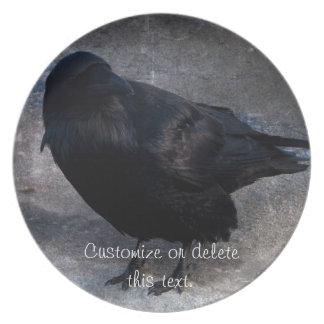 Cuervo sucio; Personalizable Plato