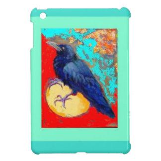 Cuervo y huevo w Turquoise del ébano por Sharles