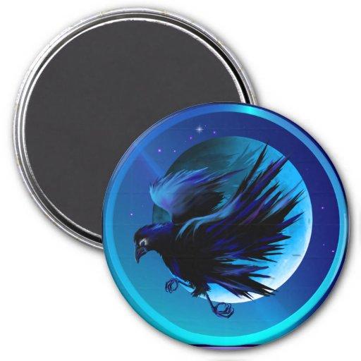Cuervo y Luna-Imanes Imán Redondo 7 Cm