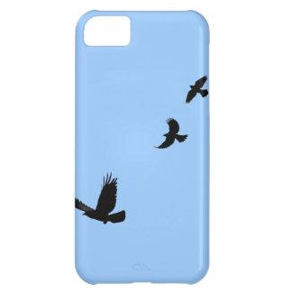 Cuervo y regalo común de Grackles Birdlovers Funda Para iPhone 5C