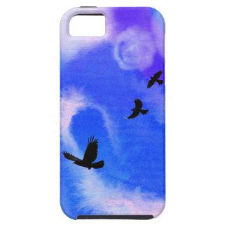 Cuervo y regalo común de Grackles Birdlovers iPhone 5 Carcasas